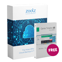 Zoolz Home Cloud 5 TB - Yearly + GTL Home Free boxshot